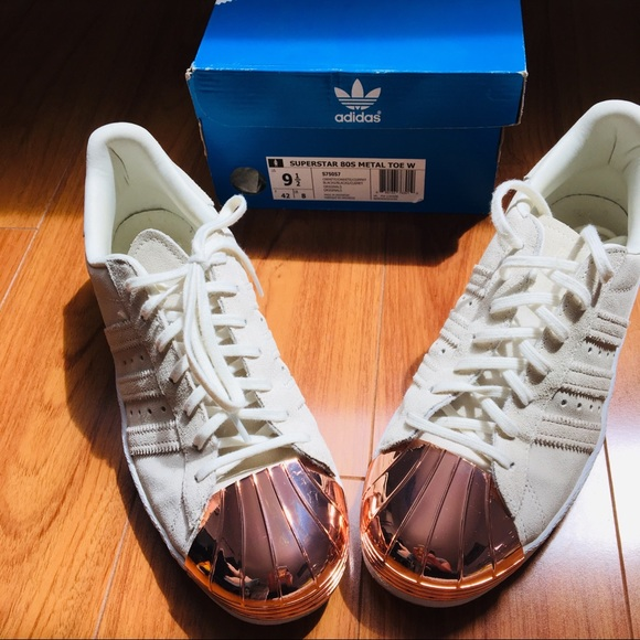 adidas Shoes - Adidas Superstar 80s Metal Toe Rose Gold